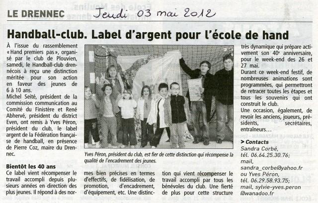 2012-05-03j-HBCD-Label d'argent pour l'école de Handball-TBO