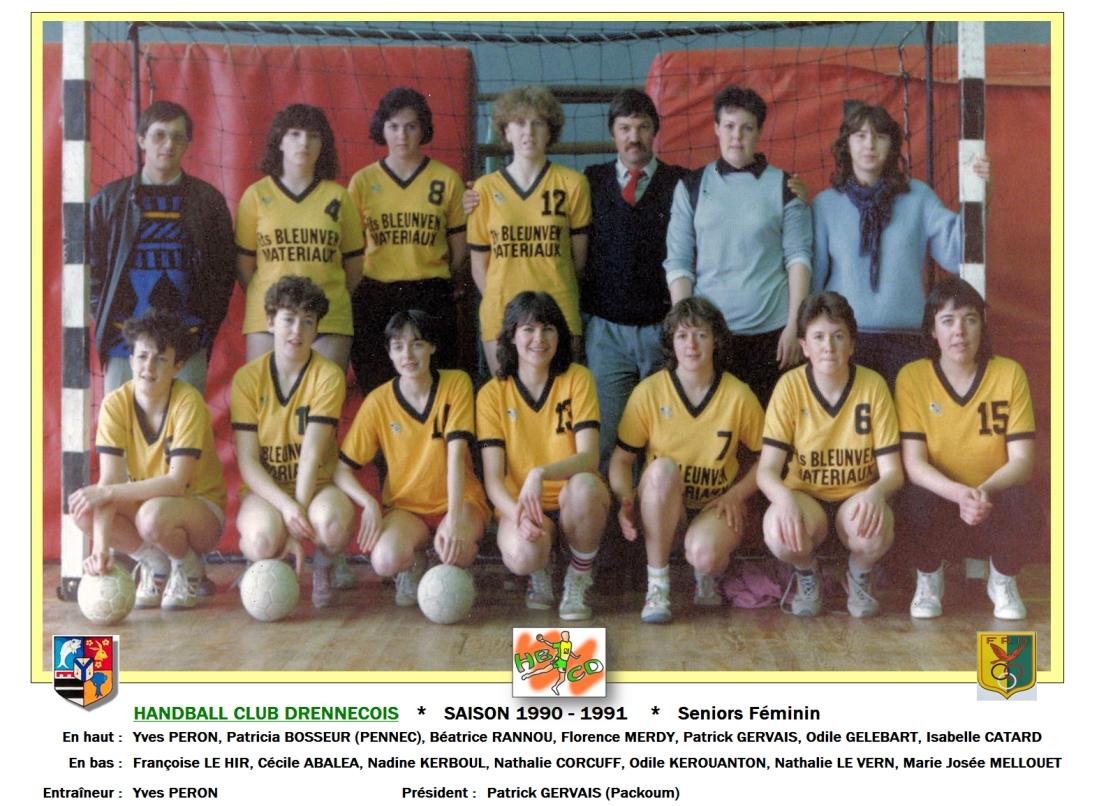 1990-1991-Seniors Féminin-a