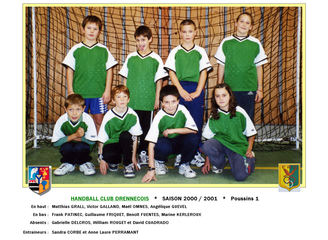 2Handball2000-2001-Poussins1