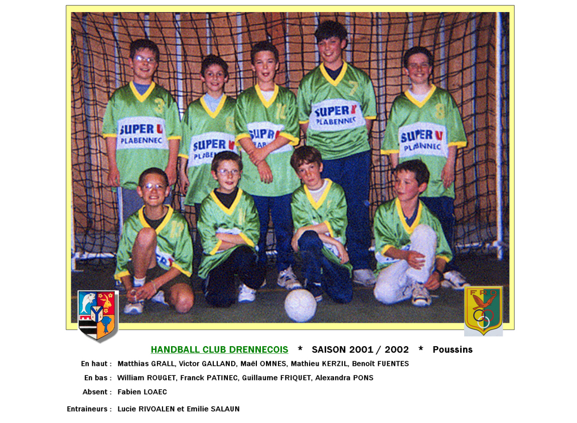 2Handball2001-2002-Poussins