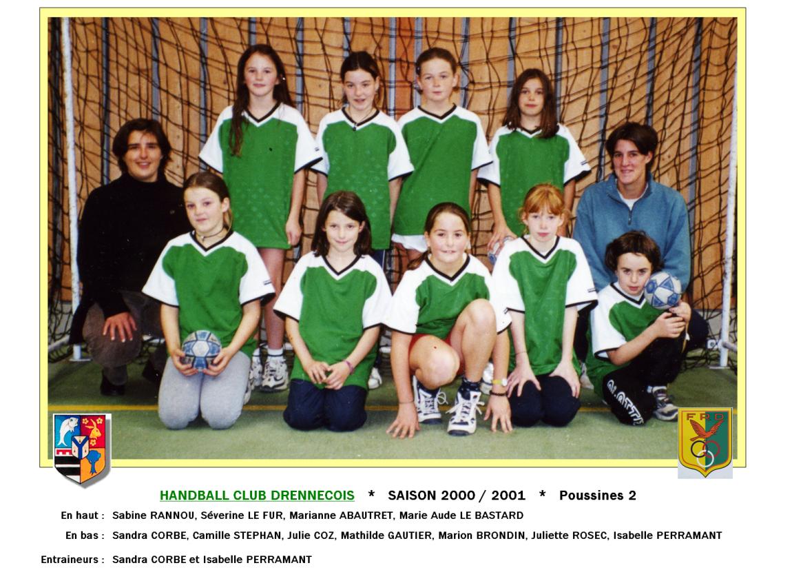 3Handball2000-2001-Poussines2