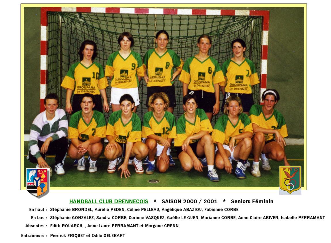 7Handball2000-2001-seniorsF