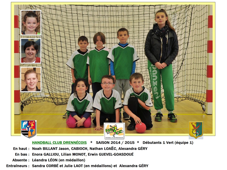 2014-2015-02-Débutants 1 Vert (équipe 1)