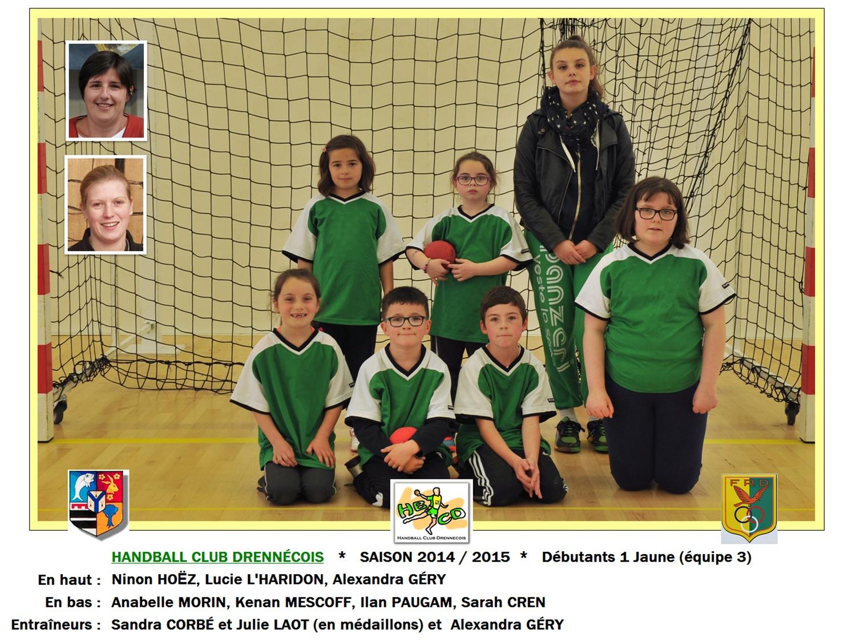 2014-2015-04-Débutants 1 Jaune (équipe 3)